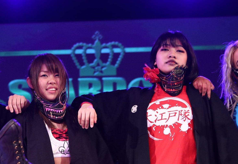 Hazuki & Hana Kimura Doing RoH Shows